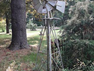 7' Decorative Lawn Windmill