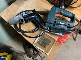B&D Jig Saw & MW Electric Impact