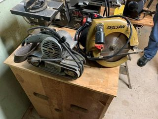 Skillsaw & Sears Belt Sander