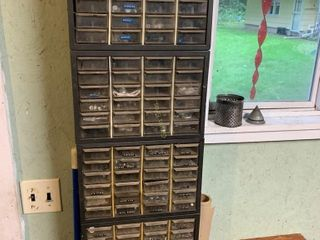 4 Supply Cabinets & Contents