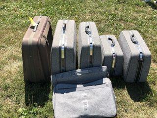 Samsonite suitcase set, Diplomat suitcase