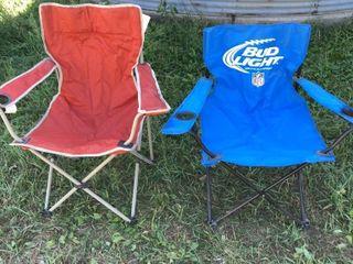 5 lawn chairs, ISU stadium chair