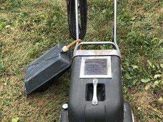 VON SHRADER carpet cleaner, Kirby vacuum