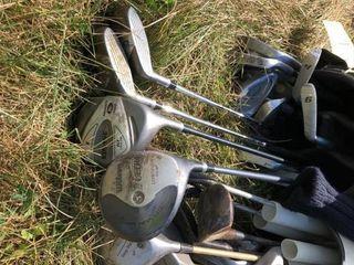 4 sets golf clubs