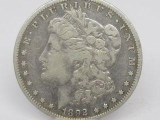 1892-S US Morgan Silver Dollar