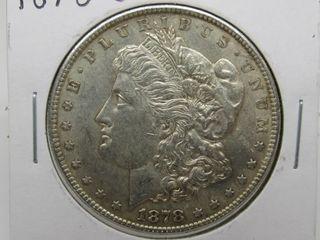 1878-S US Morgan Silver Dollar