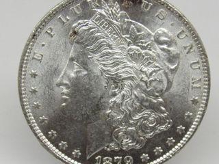 1879-P US Morgan Silver Dollar