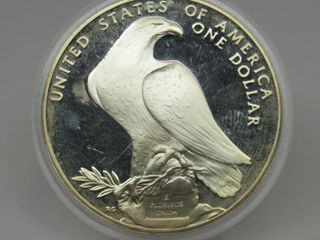 1984-S US Olympic $1 Silver Commemorative Coin