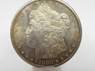 1880-S US Morgan Silver Dollar