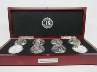 Heroes of Pearl Harbor Silver Crown Collection