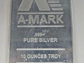 10oz A - Mark Silver Bar