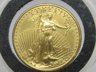 2001 American Eagle $10 Gold Coin Uncirculated