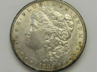 1883-S US Morgan Silver Dollar