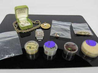 Assorted Gemstones, Necklaces, & Watch