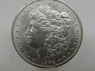 1904-O US Morgan Silver Dollar