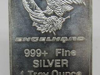 1Troy Ounce Engelhard Silver Bar