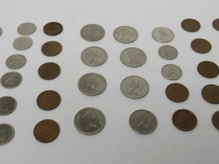 (38) Canada Assorted Coins
