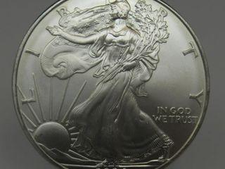 2004 US American Silver Eagle