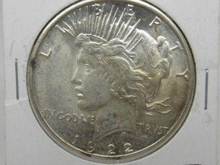 1922-S US Peace Dollar