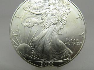 2002 US American Silver Eagle