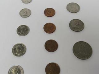 (12) Cayman Islands Assorted Coins