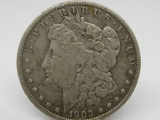 1903-S US Morgan Silver Dollar