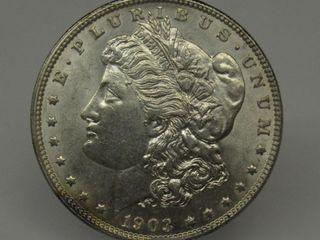1903-P US Morgan Silver Dollar