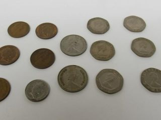 (20) United Kingdom Assorted Coins
