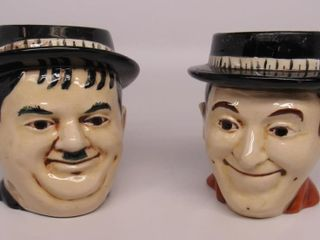Laurel and Hardy Mug Set