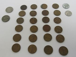 (26) United States Assorted Coins