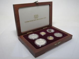 1992 US XXV Olympic 6 Coin Gold & Silver Proof Set
