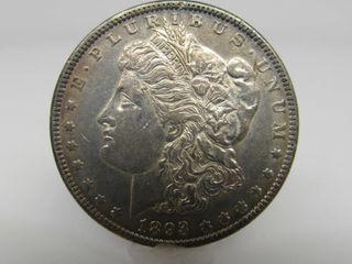 1893-P US Morgan Silver Dollar