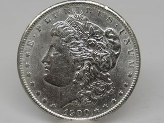 1900-P US Morgan Silver Dollar