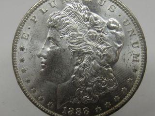 1888-O US Morgan Silver Dollar