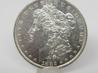 1882-O US Morgan Silver Dollar