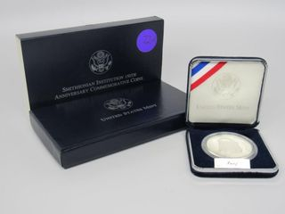 1992 US White House $1 Silver Proof