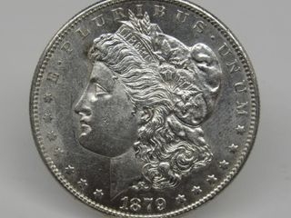 1879-S US Morgan Silver Dollar