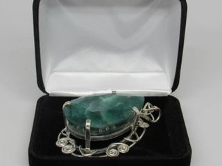 300.41 cts Emerald Pendant *Appraisal*