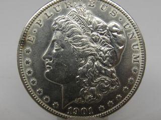 1901-O US Morgan Silver Dollar