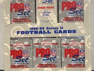 1992-1993 Pro Set Football Cards Series II