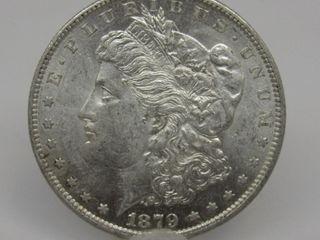 1879-O US Morgan Silver Dollar