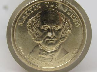 (50) 2008-P US Never Circulated Martin Van Buren
