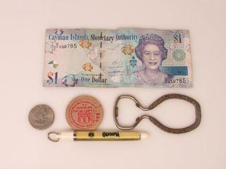 Bottle Opener, Key Chain, Money