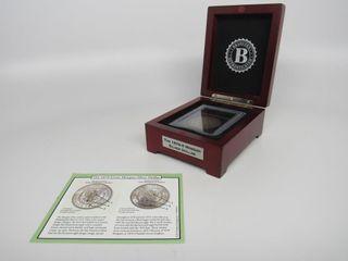1879 -S Morgan Silver Dollar