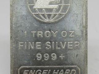 1 Troy Ounce Englehard Silver Bar