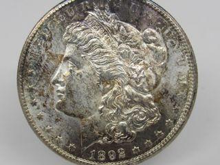 1892-CC US Morgan Silver Dollar