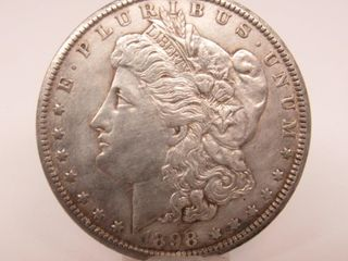1898-O US Morgan Silver Dollar