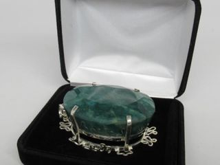 486.61 cts Emerald Pendant * Appraisal*