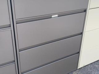 4 Drawer Lateral File Cabinet 36x18x52