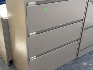 3 Drawer Lateral File Cabinet 36x18x42